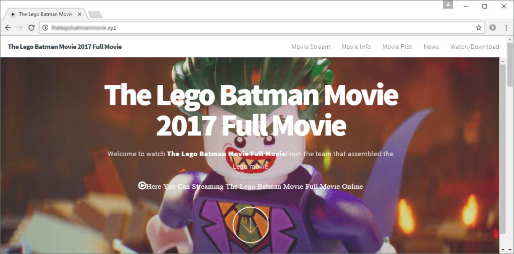 "This .xyz domain (which contains both ""lego"" and ""batman"" in its name) has clearly been registered in bad faith, as it offers free access to a pirated copy of The LEGO Batman Movie."